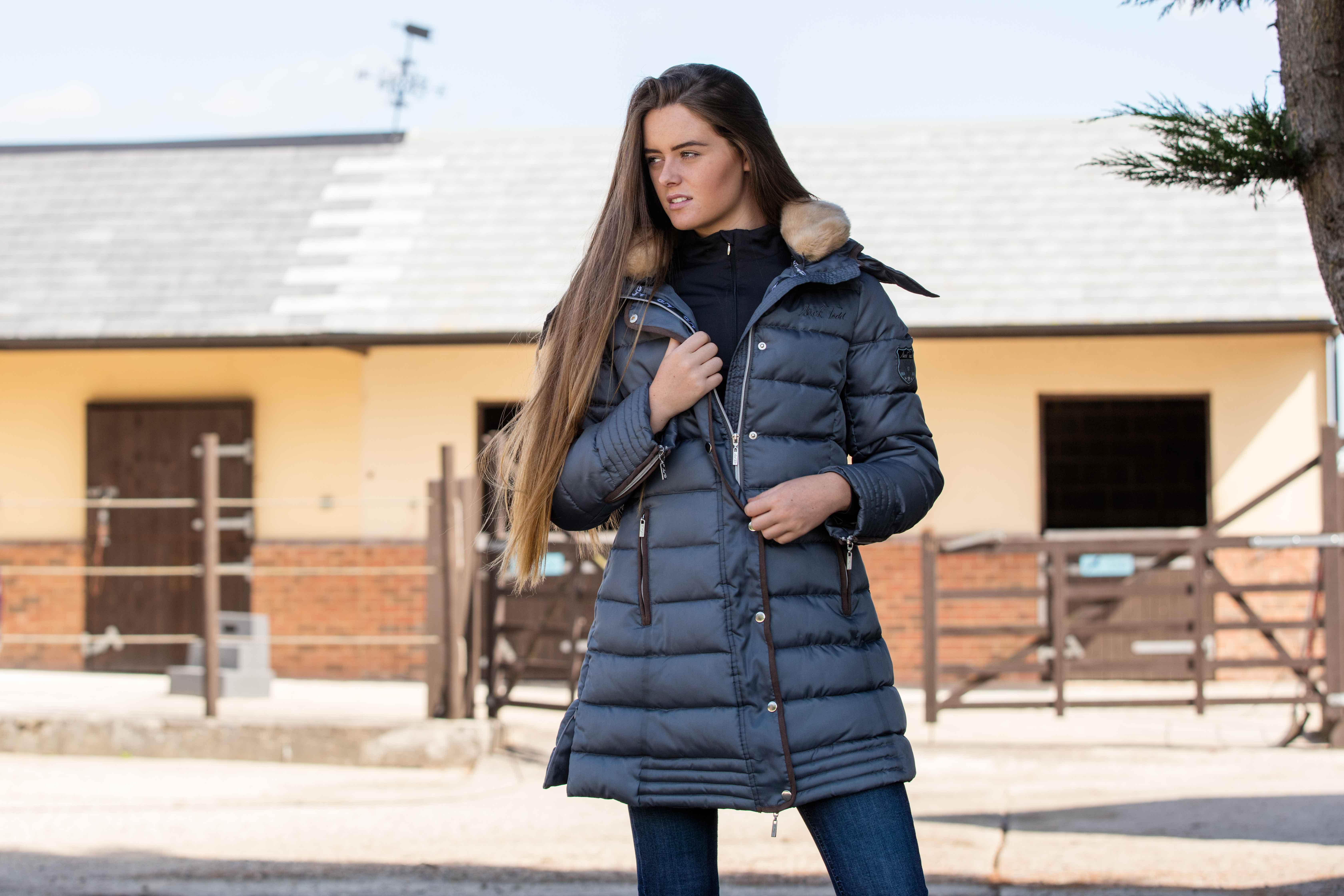 Padded Everything Coat Horse New Deluxe Todd Mark qnfcWvt4a