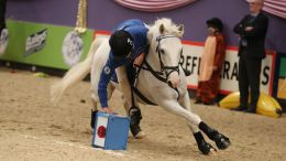 Oakley Hunt West do the Double at HOYS