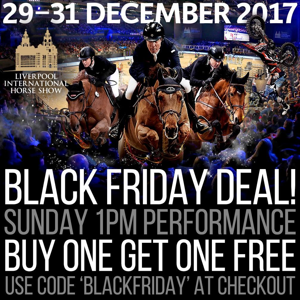 Liverpool International Horse Show Black Friday Offer