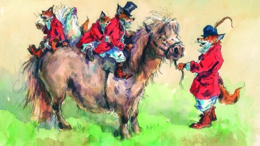 Horse themed Christmas Cards give back to Charity