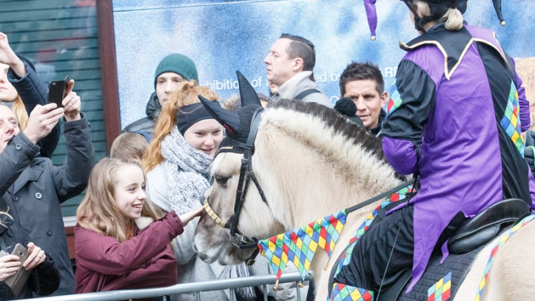 Meeting The Delighted Crowds - All The Queen's Horses 2018. Photo By Jo Monck