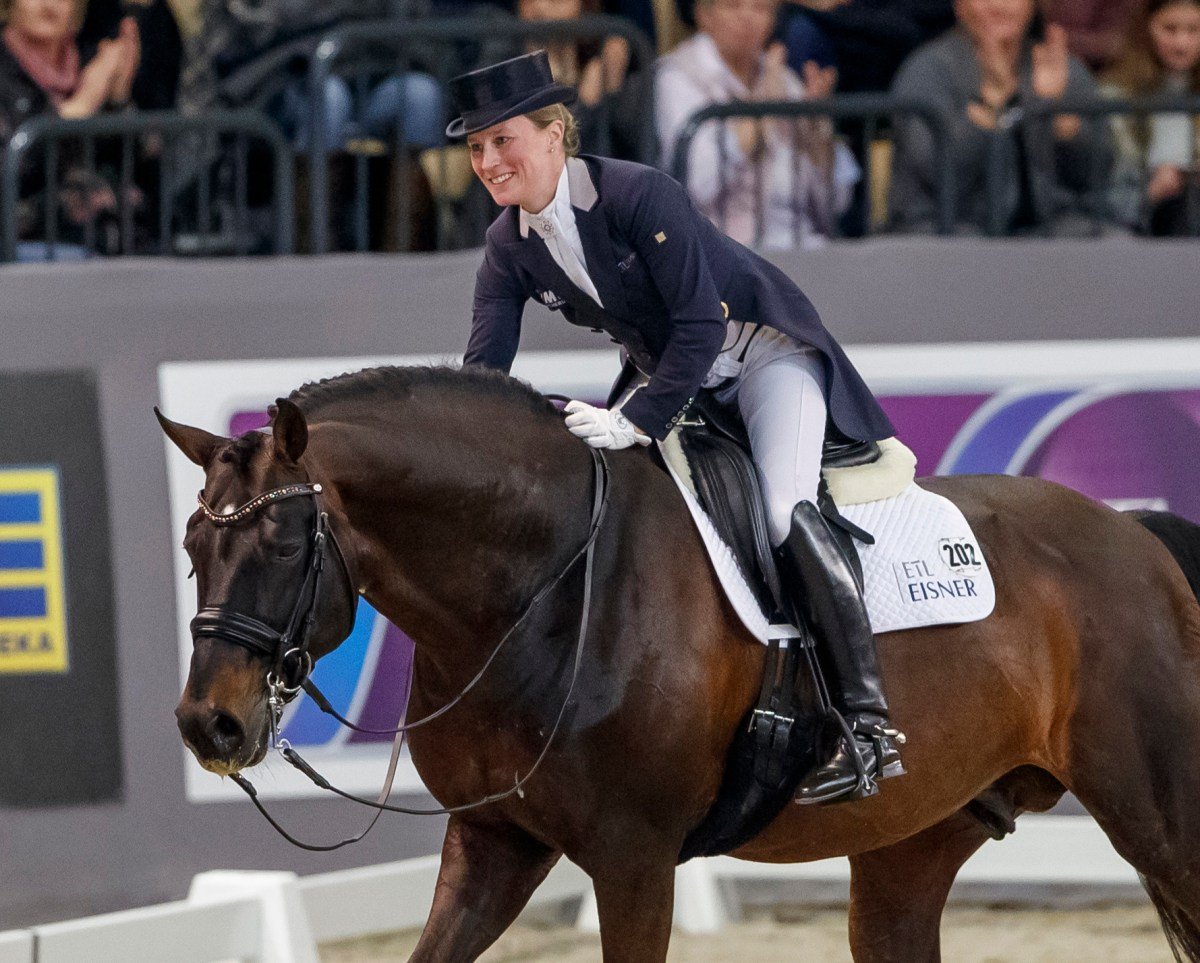 Mum to be, Helen Langehanenberg, Posts a Superb Victory in FEI World Cup Dressage
