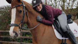 Natasha Baker Finds Horse of her Dreams - Natasha on Diva