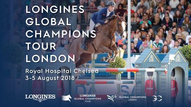 Longines Global Champions Tour - LGCT London 3-5th August 2018