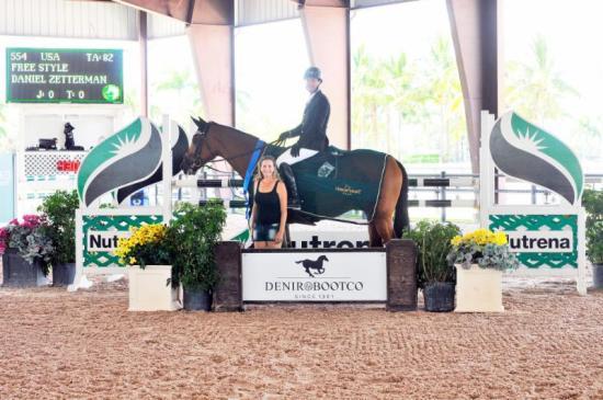 Daniel Zetterman and Free Style Palm Beach Equestrian Center.