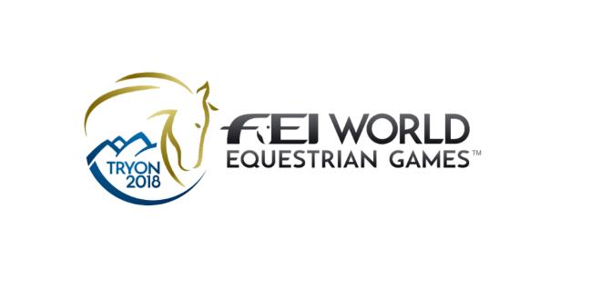 FEI world equestrian games Tryon 2018 logo