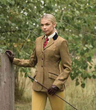 Equetech Studham Deluxe Tweed Riding Jacket
