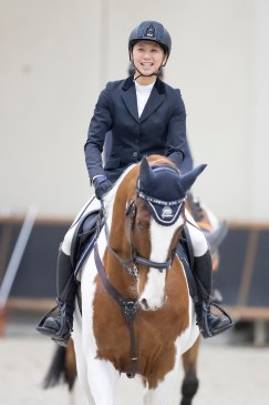 As winners of the FEI Jumping World Cup™ 2018/2019 Japan League, Shino Hirota and her skewbald horse Life is Beautiful, who competed in harness-racing earlier his career, have qualified for the Longines 2019 Final which will take place in Gothenburg (SWE), the city where this extraordinary horse was born. (FEI/Yusuke Nakanishi)