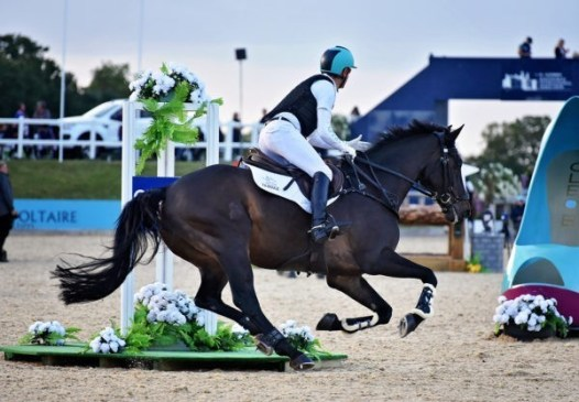 Andrew Hoy in the Eventers Grand Prix