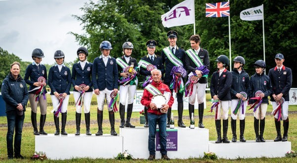 FEI Eventing Nations Cup prizegiving by Sophie Harris at SEH Photography.