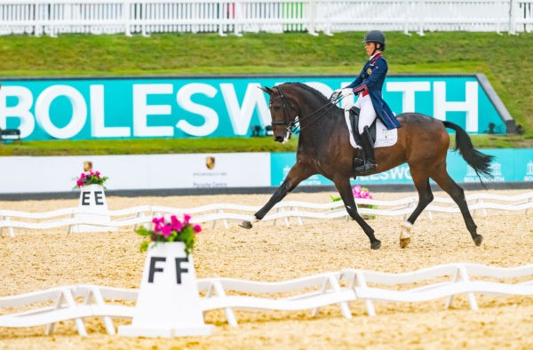 CHARLOTTE DUJARDIN and Mount St John Freestyle take the honours
