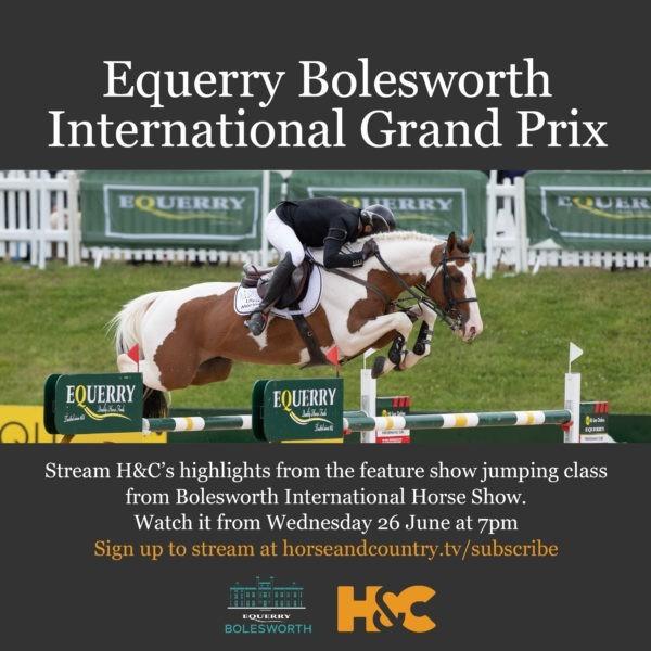 Equerry Bolesworth International Grand Prix