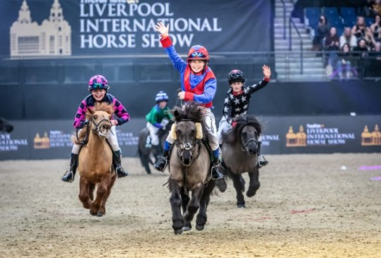 Win tickets to Liverpool International Horse Show - Image Shetland Grand National