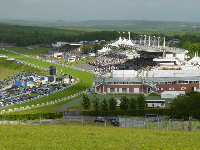 Goodwood Horseracing Course © Copyright Janine Forbes