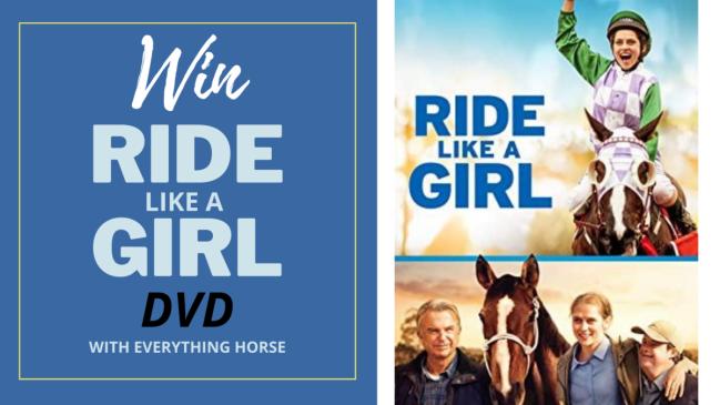 WIN RIDE LIKE A GIRL DVD