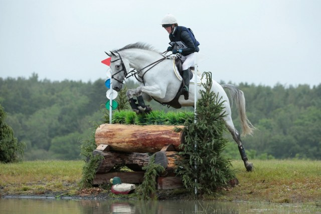 Willa Newton riding Cock A Doodle Doo at Alnwick Ford International Horse Trials. Image credit Lottie Elizabeth Photography