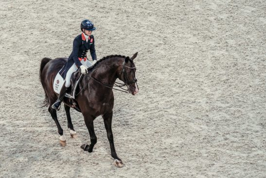 Tokyo 2020 Olympic Games - Dressage Day 1 Grand Prix Charlotte Fry (GBR) with ride Everdale at Baji Koen Equestrian Park, Tokyo (JPN) FEI/Christophe Taniere 24 July 2021