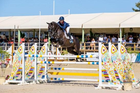 Tabitha Kyle (GBR) Desterly FEI Jumping European Championships for Young Riders, Juniors, Children - Vilamoura 2021 © FEI/Leanjo de Koster