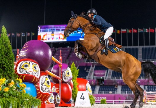 It's almost a century since Sweden last won Olympic Jumping Team gold, and when they did it tonight they did it with both style and grace.