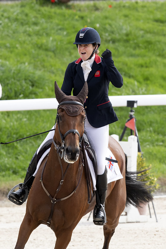 Piggy MARCH (GBR) rides Brookfield Inocent during Show Jumping competition on September 25, 2021 in Avenches , Switzerland .   Photo Copyright © FEI/Richard Juilliart