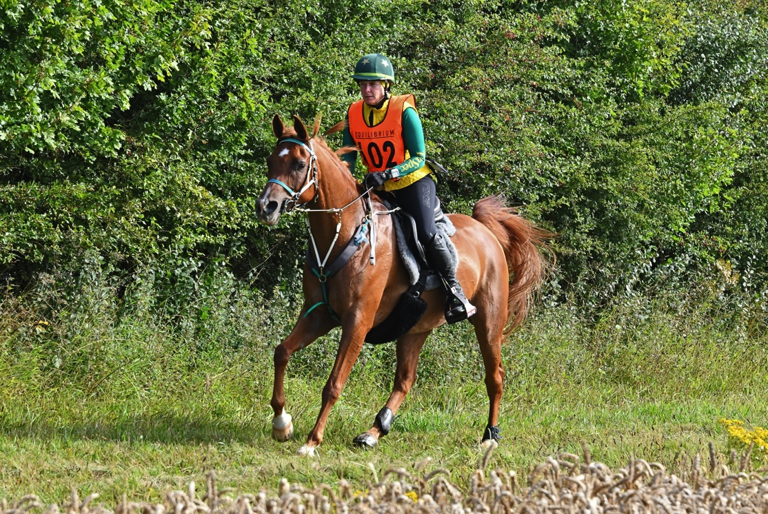 Linda Cowperthwaite Winner of the 166km CER 3 Day class. Image credit West End Photography