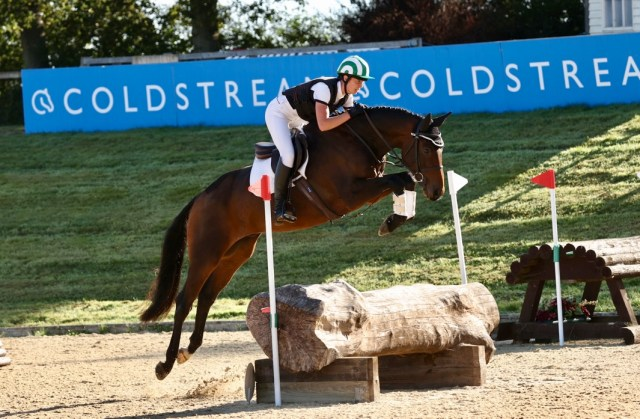 Anna Stillwell and Watervalley Royal Guy. Image credit 1st Class Images.