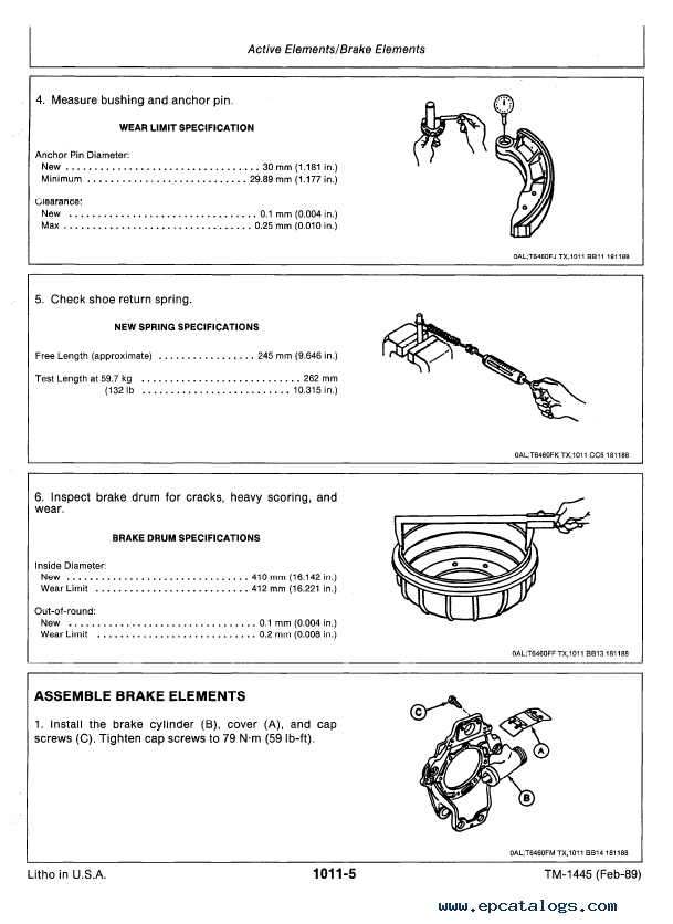 John Deere 1445 Repair Manual