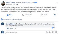 Jeremiah Chaney Facebook Review