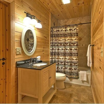 cabin shower curtains for country homes