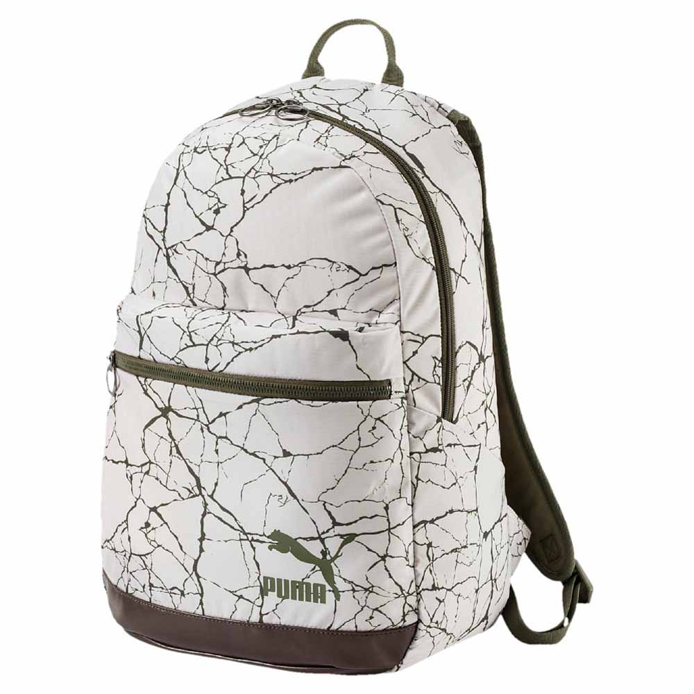 PUMA original off white marble backpack