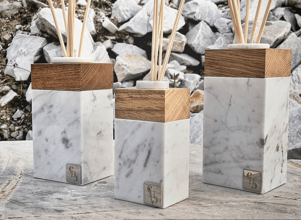 Carrara Marble diffuser by Carrara Home Design