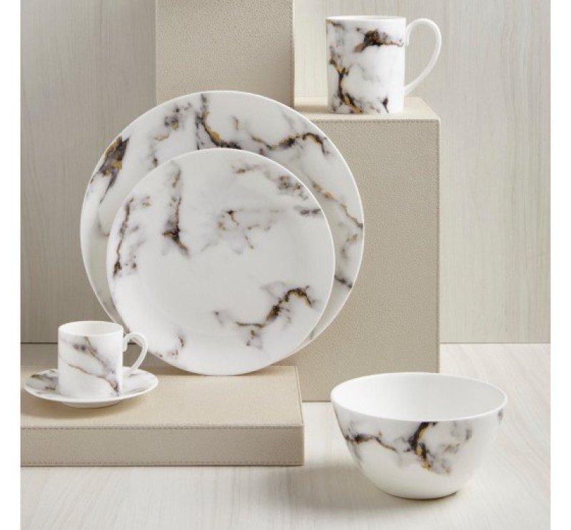 Marble dinnerware by Prouna