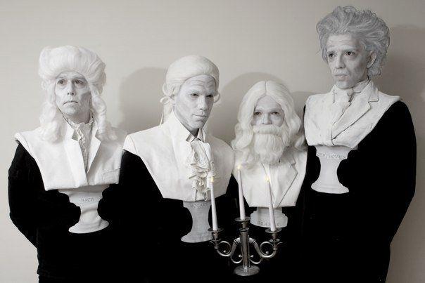 Musician marble bust - costume by DavidAndora www.davidandora.com