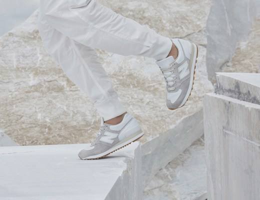 """New Balance + END. """"Marble White"""" M575END inspired to Carrara marble"""