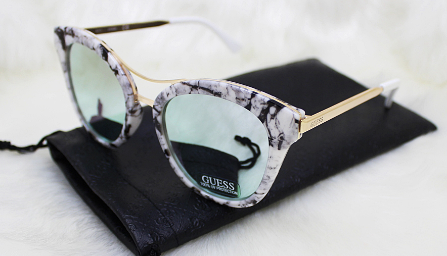 Guess marble sunglasses
