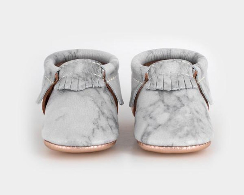 Marble shoes for babies by Freshly Picked