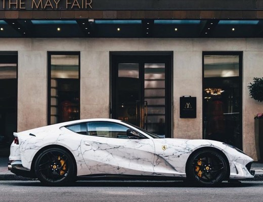 marble supercar