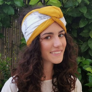 How to wear turbans: egyptian style - marble turban by everything marble and l'ughetta