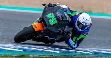 Moto2: Barry Baltus, the 16 year old Moto2 rookie