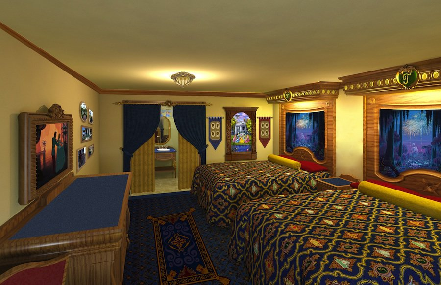 Walt Disney World Themed Hotel Rooms  Everythingmouse