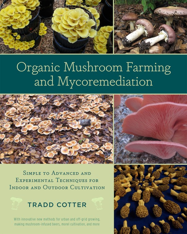 Organic Mushroom Farming and Mycoremediation Simple to Advanced and Experimental Techniques for Indoor and Outdoor Cultivation. By Tradd Cotter