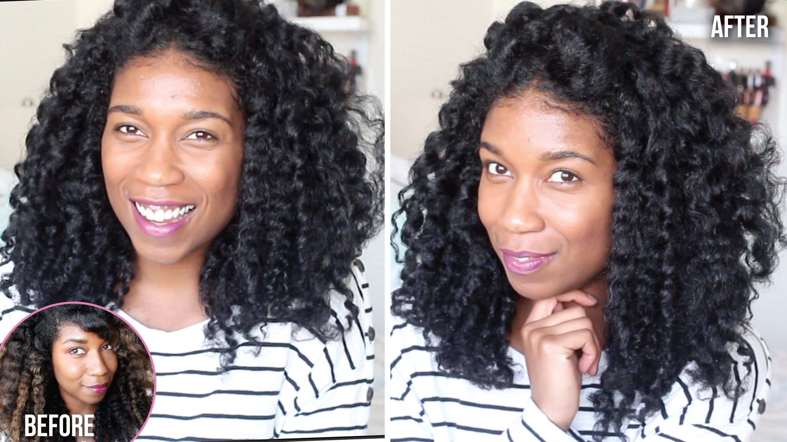 Back To Black Dying Natural Hair At Home Box Dye Demo Results
