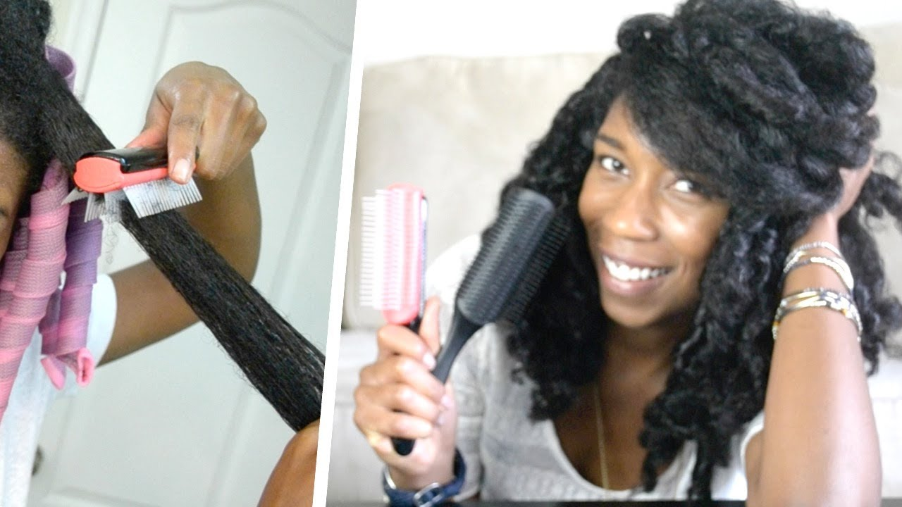 How To Detangle THICK Curly Natural Hair How To Modify
