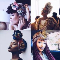 Natural Hair Protective Style Scarves... - Everything ...