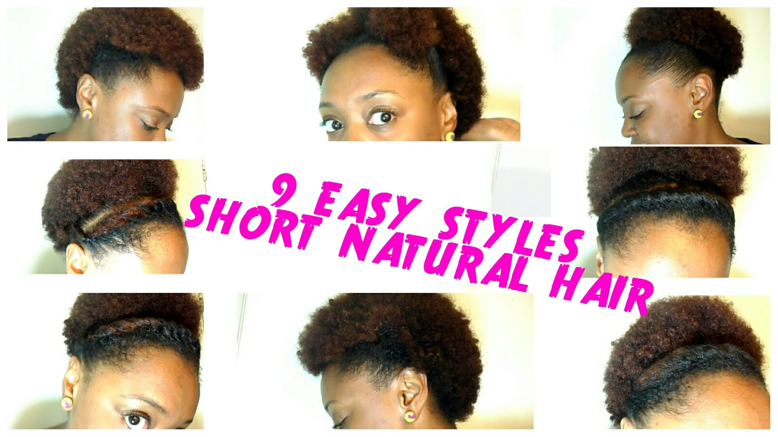 9 Back To School Hairstyles For Short Natural Hair The Curly