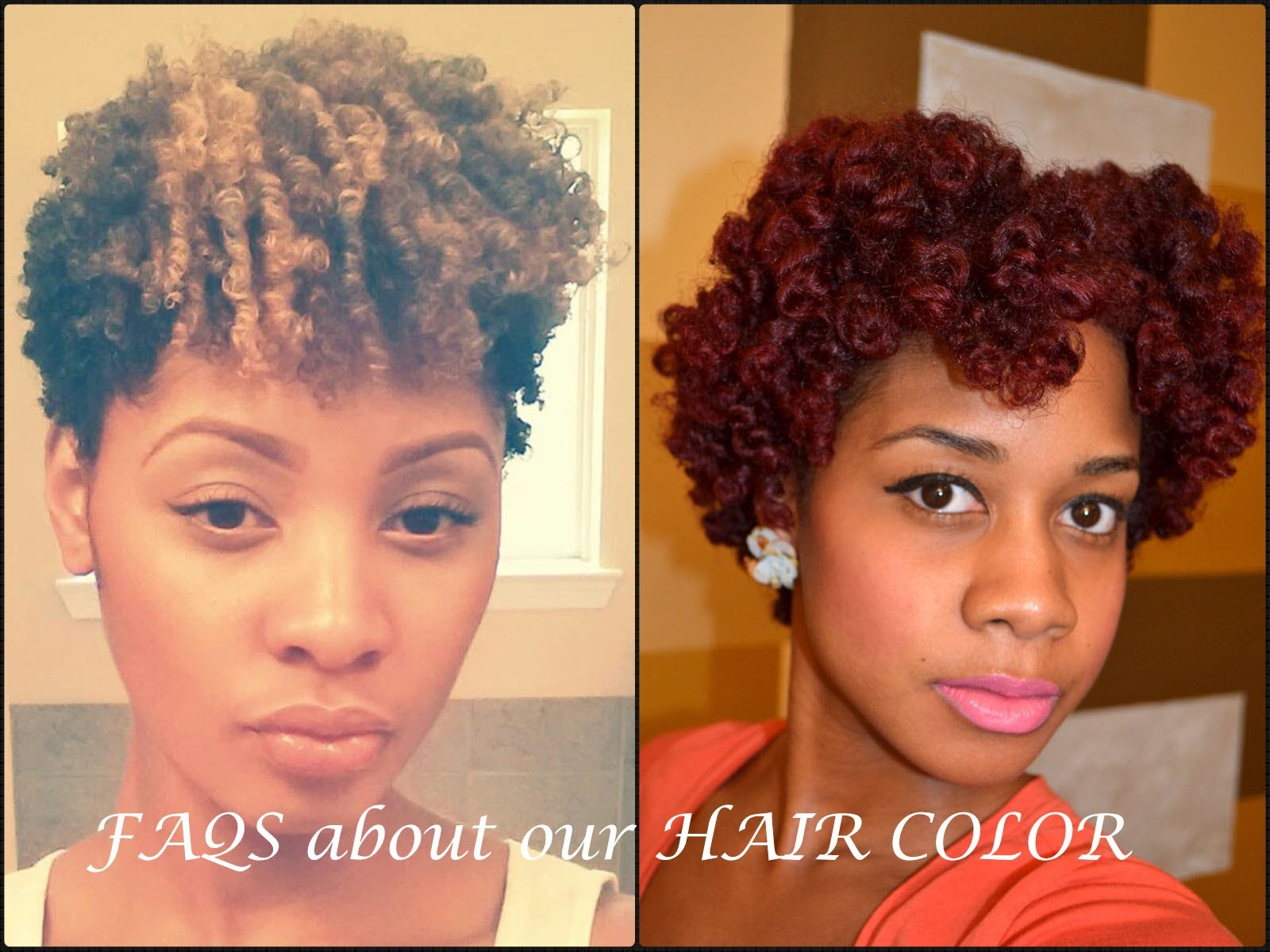 Faqs About Hair Color On Natural Hair Everything Natural Hair