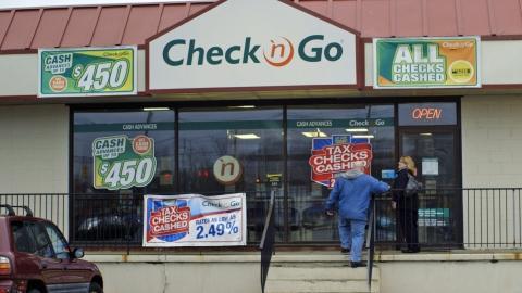 check cashing store