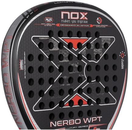 nox nerbo wpt padel racket