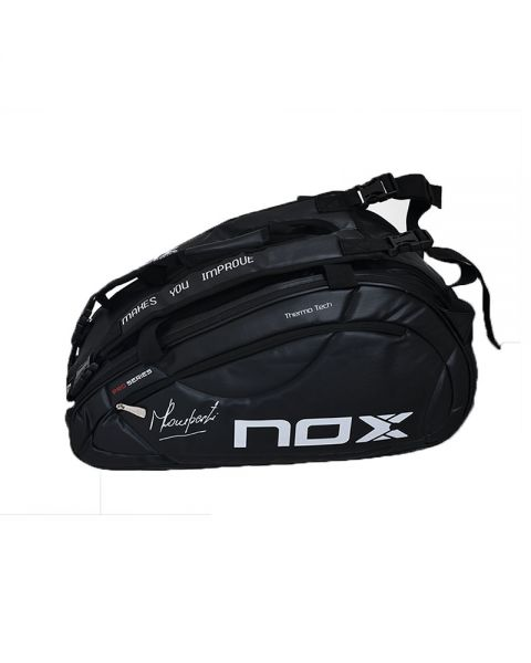 nox black padel bag