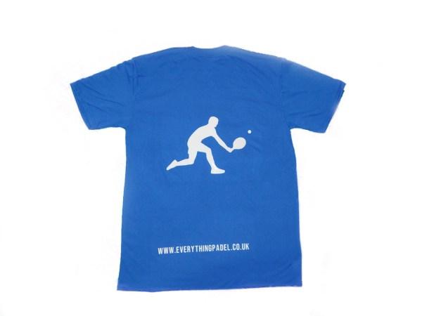 padel t-shirt blue 2